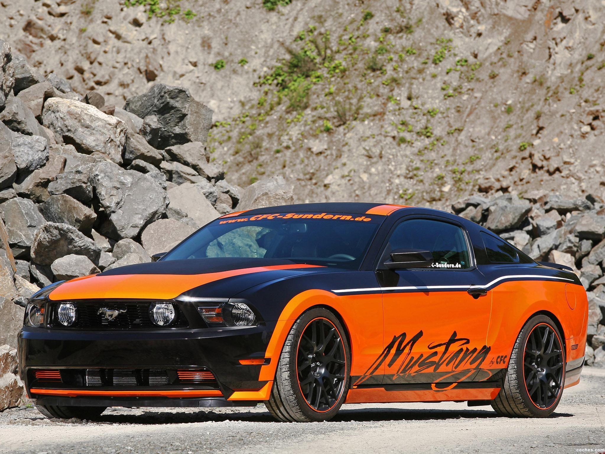 Foto 8 de CFC Ford Mustang Sundern World Marko Mennekes 2011