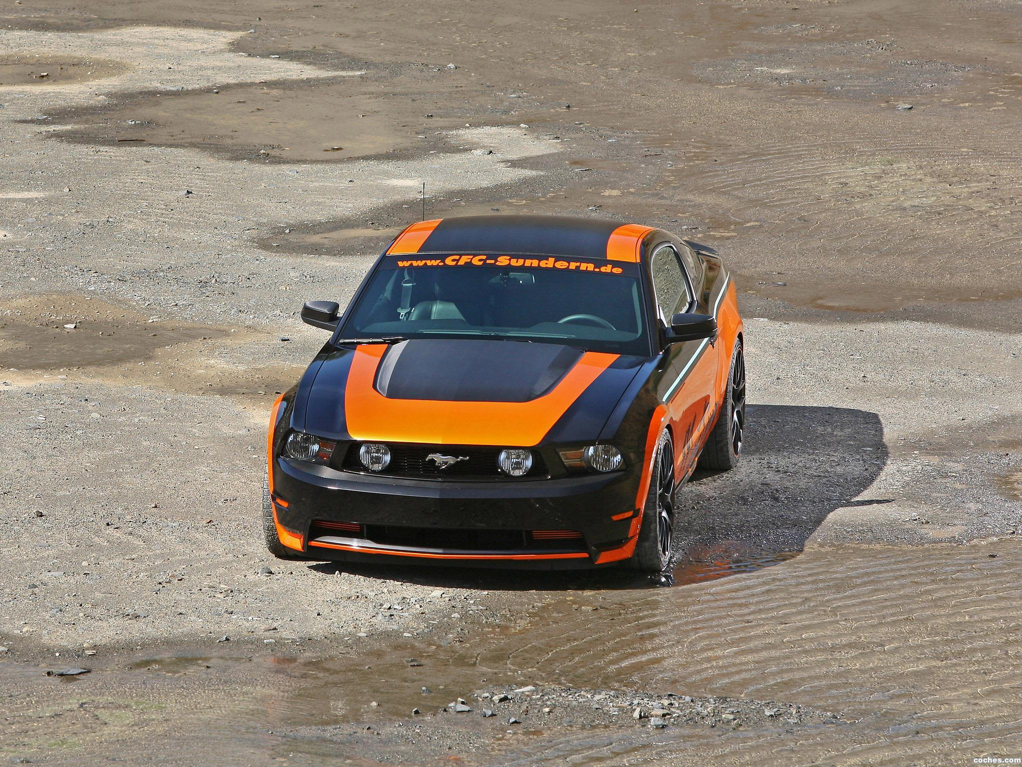 Foto 7 de CFC Ford Mustang Sundern World Marko Mennekes 2011