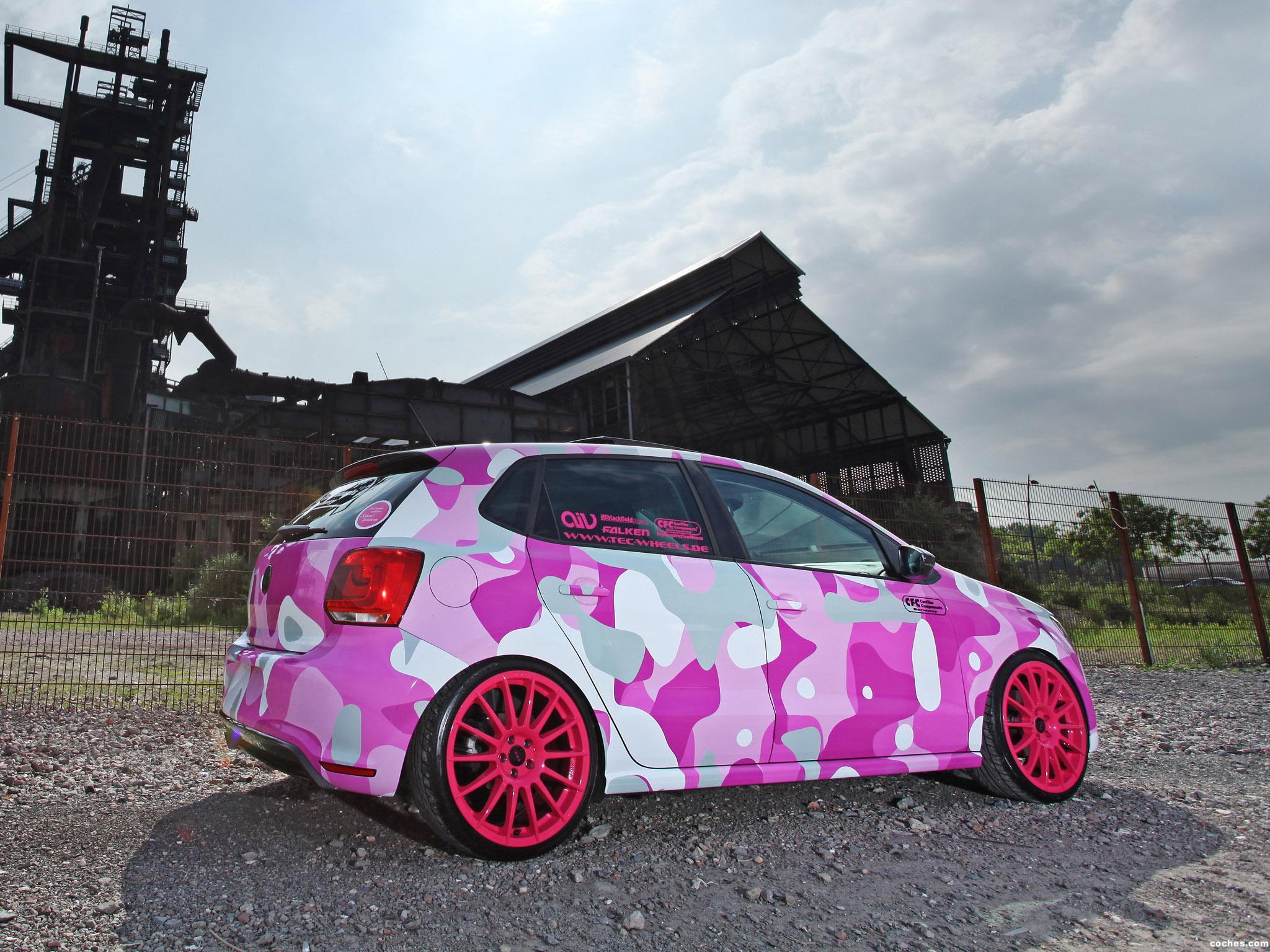 Foto 2 de Volkswagen Polo GTI 6R Synergetic Effects  2012