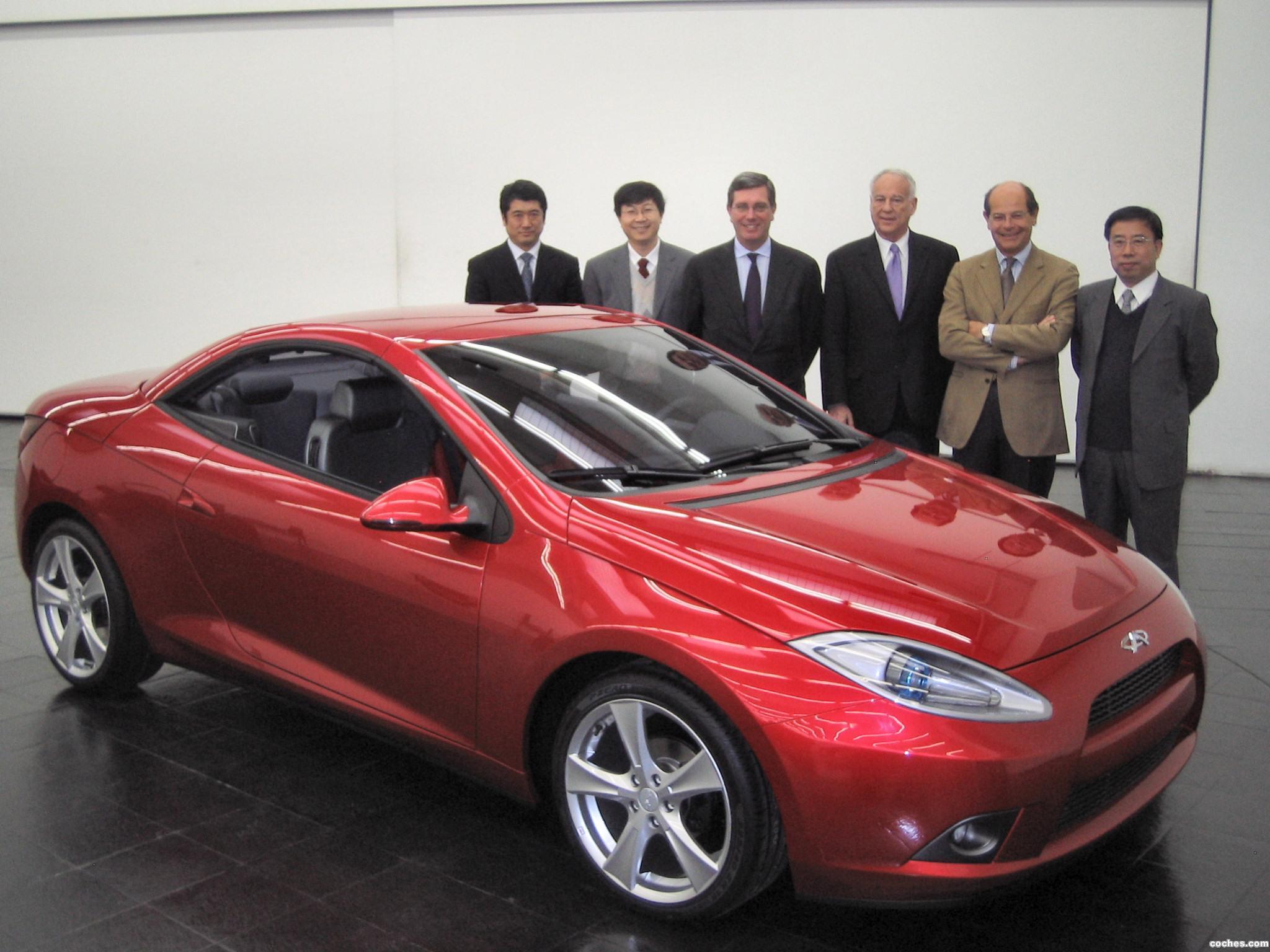 Foto 0 de Chery Coupe Cabrio Concept 2008