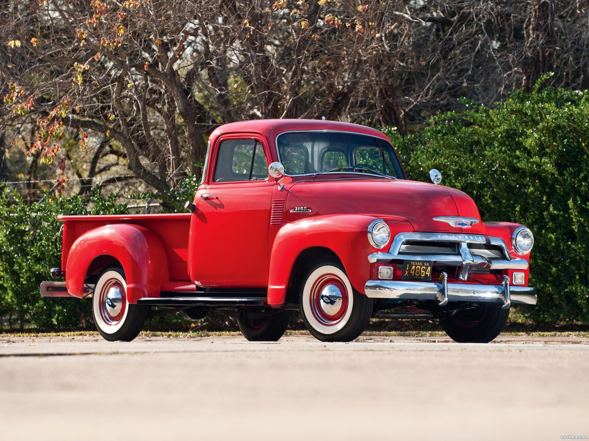 Foto 0 de Chevrolet 3100 Pickup 1954