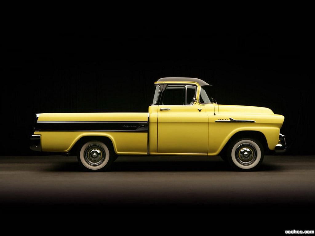 Foto 2 de Chevrolet Apache Cameo 1958