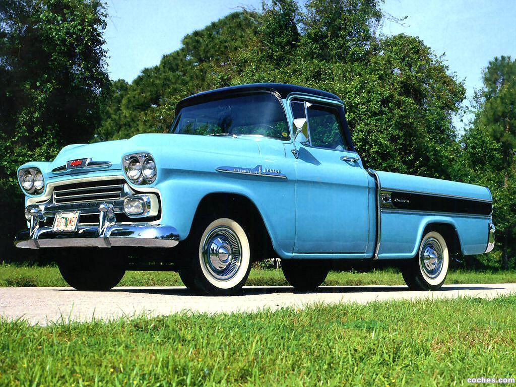 Foto 0 de Chevrolet Apache Cameo 1958