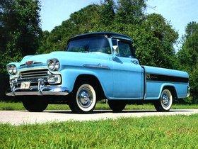 Fotos de Chevrolet Apache Cameo 1958