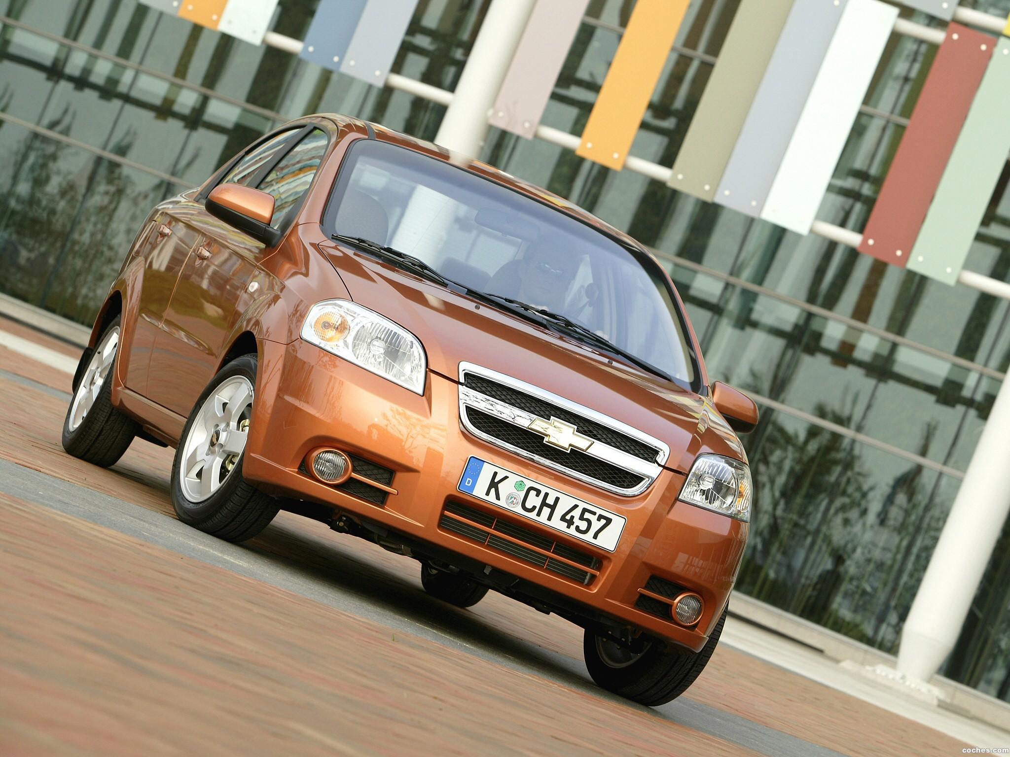 Foto 0 de Chevrolet Aveo Sedan Europe 2006