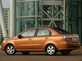 Ver foto 7 de Chevrolet Aveo Sedan Europe 2006