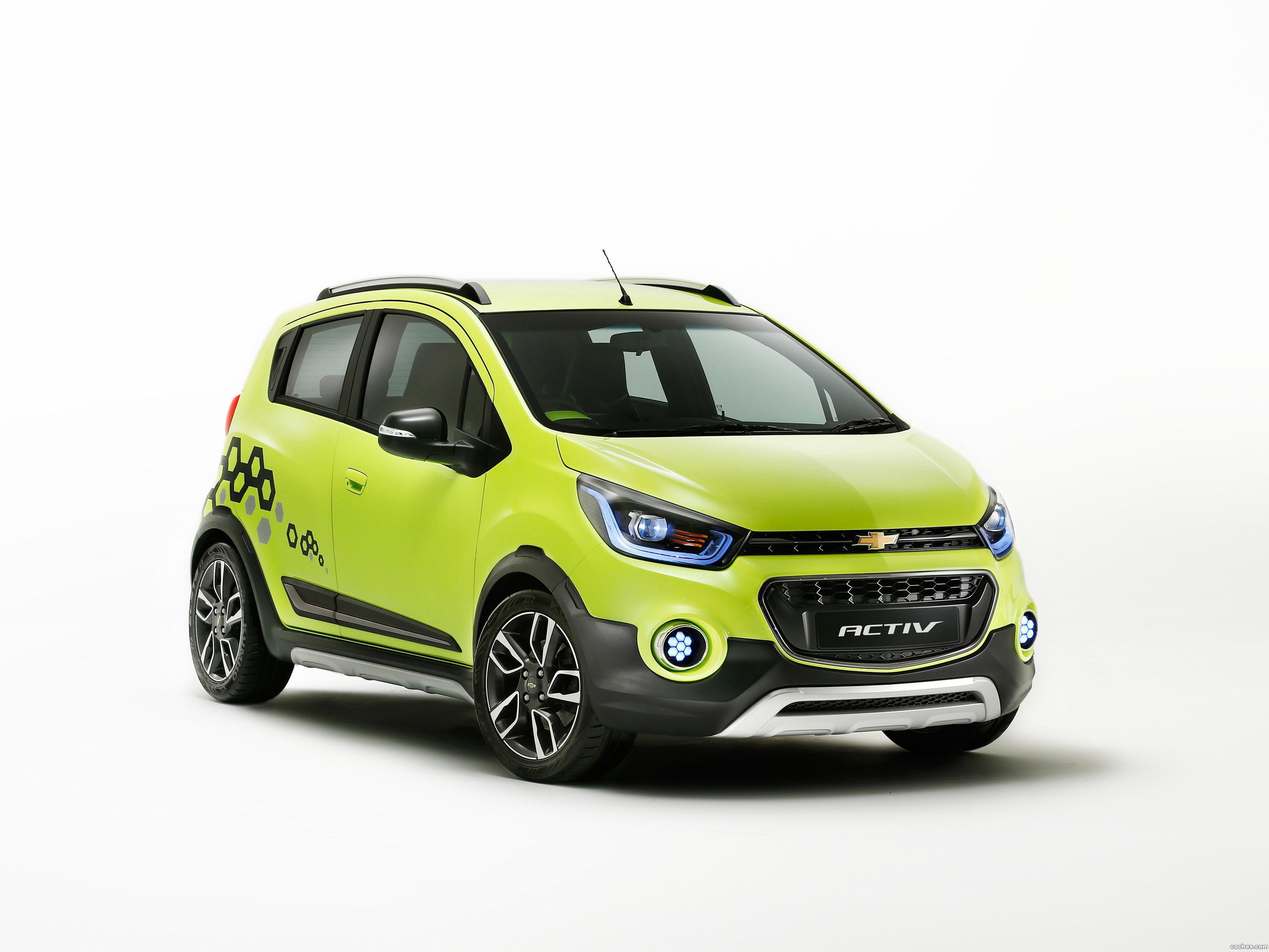 Foto 0 de Chevrolet Beat Activ Concept 2016