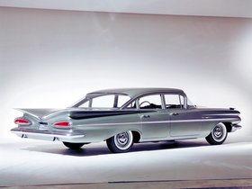 Ver foto 2 de Chevrolet Bel Air 4 puertas Sedan 1959