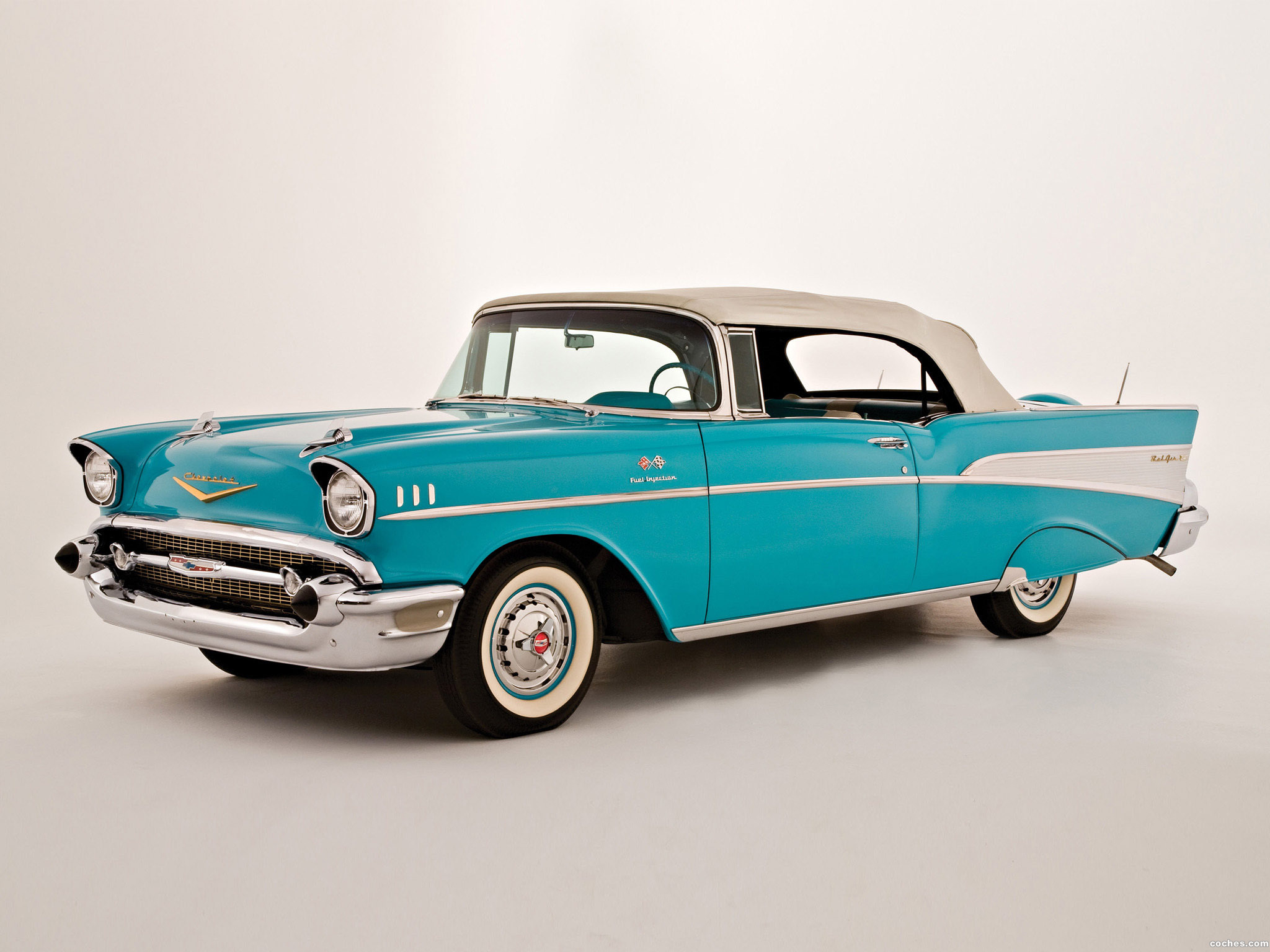 Foto 0 de Chevrolet Bel Air Convertible 1957