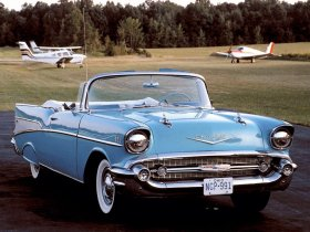 Ver foto 6 de Chevrolet Bel Air Convertible 1957