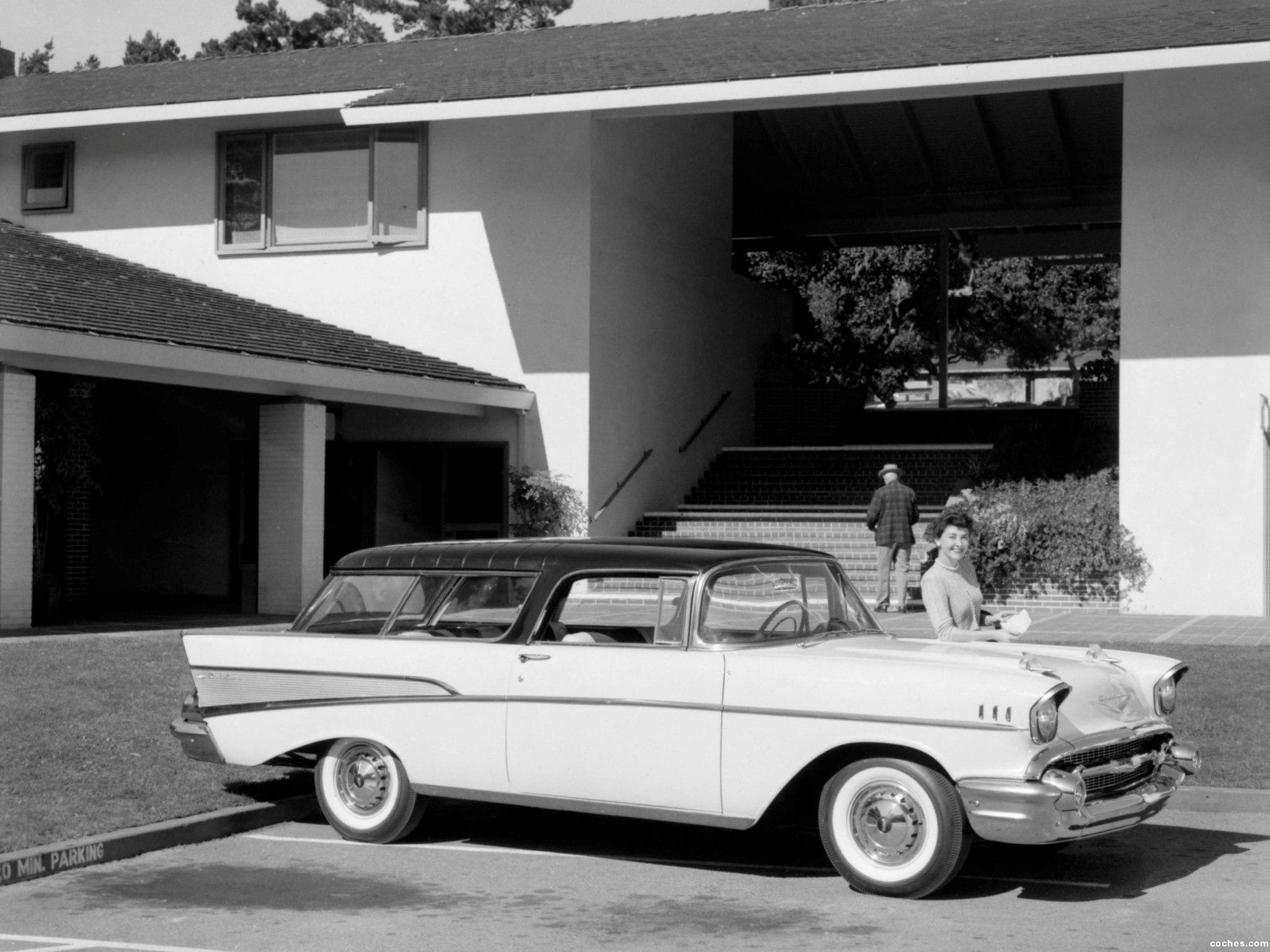 Foto 2 de Chevrolet Bel Air Nomad 1957