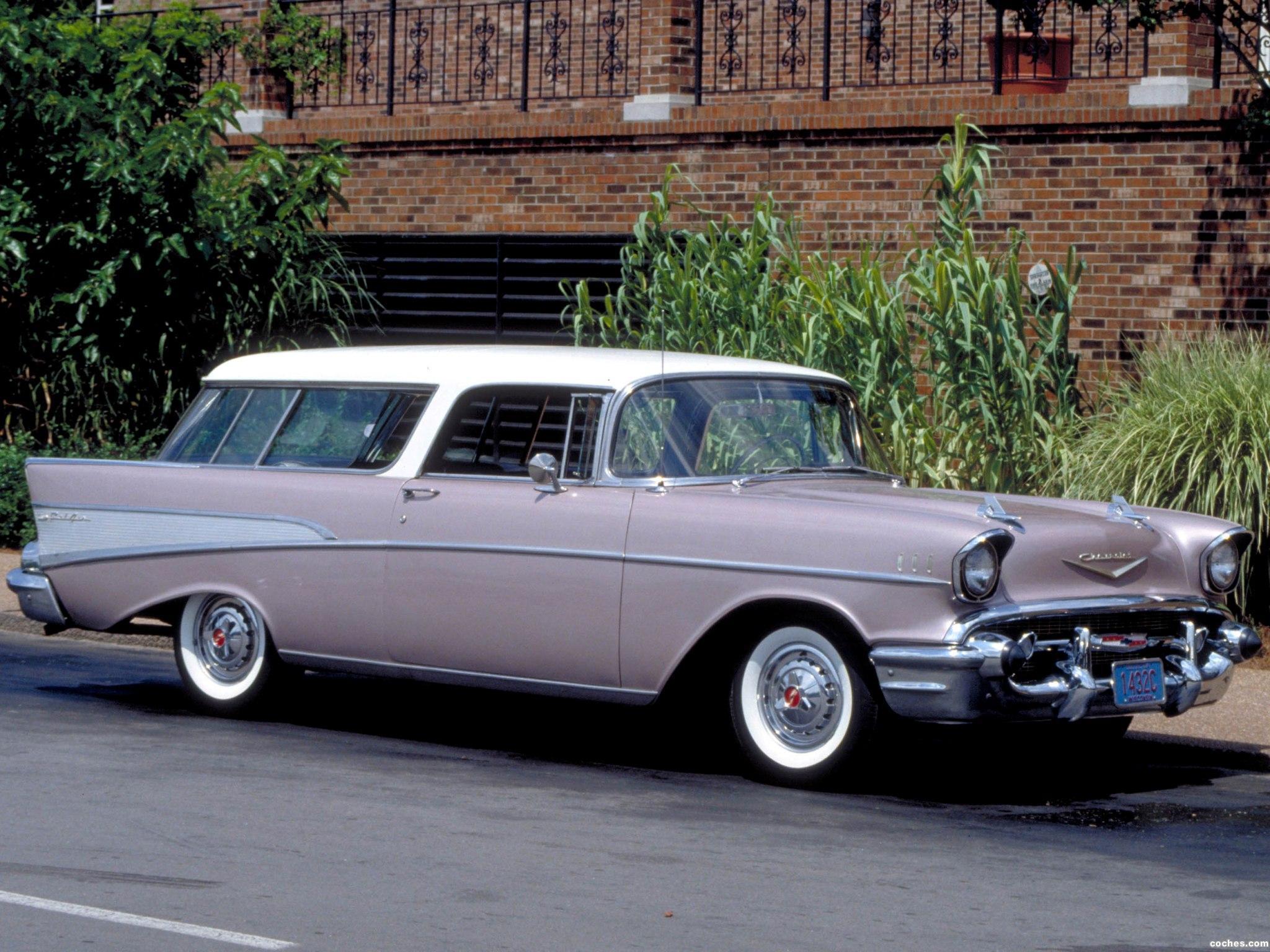 Foto 0 de Chevrolet Bel Air Nomad 1957