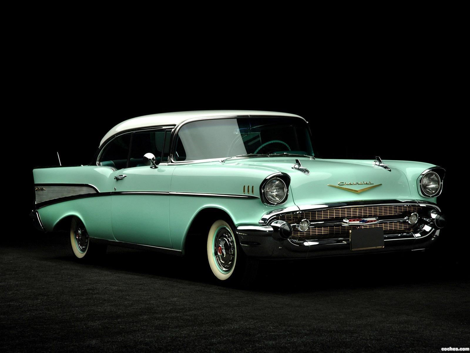 Foto 0 de Chevrolet Bel Air Sport Coupe 1957