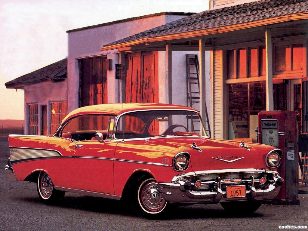 Foto 2 de Chevrolet Bel Air Sport Coupe 1957