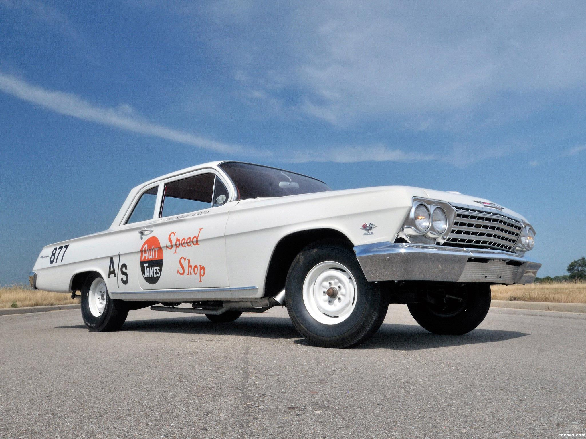 Foto 0 de Chevrolet Biscayne 409 HP 2 door Sedan Race Car 1962