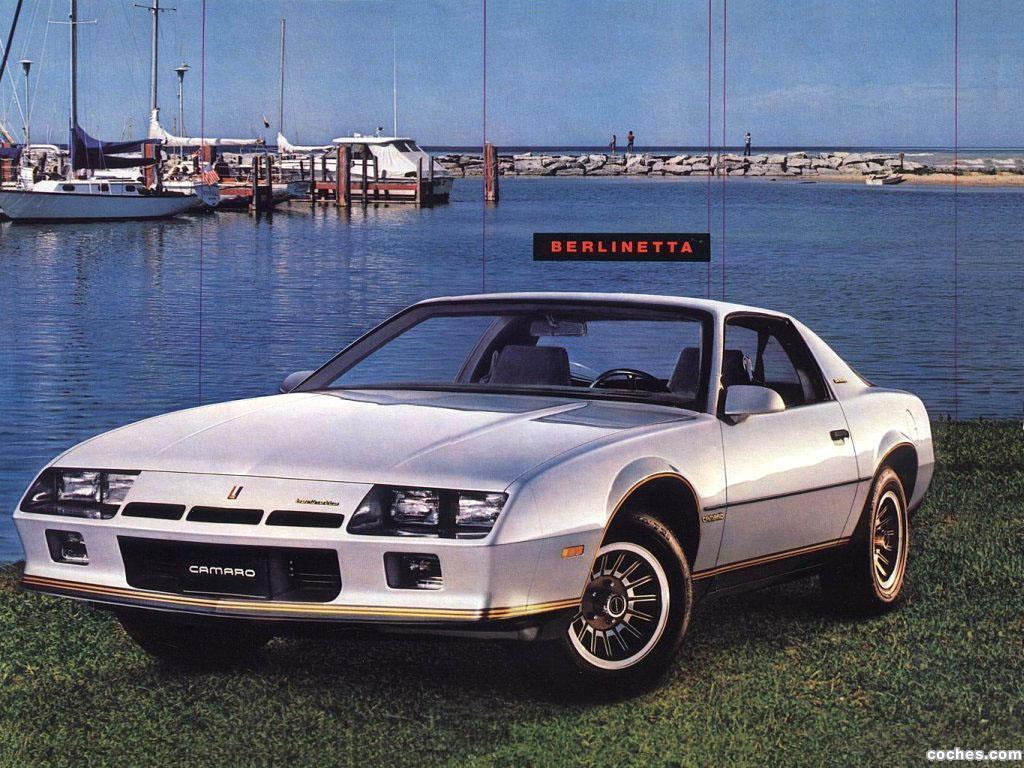Foto 0 de Chevrolet Camaro Berlinetta 1982