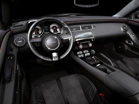 Ver foto 5 de Chevrolet Camaro Black Concept 2008
