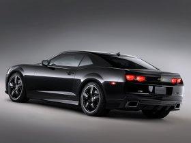 Ver foto 2 de Chevrolet Camaro Black Concept 2008