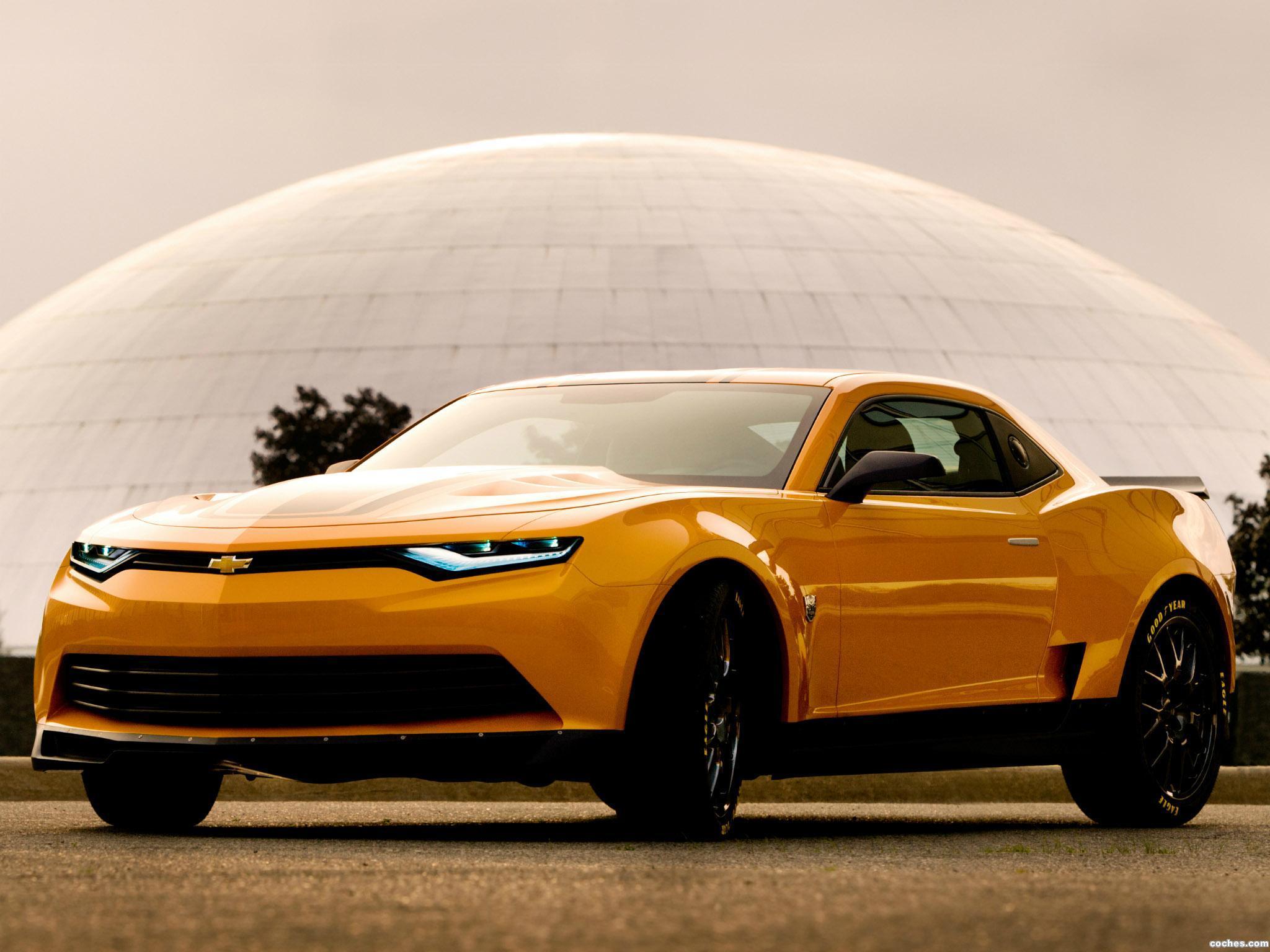 Foto 0 de Chevrolet Camaro Bumblebee Concept Transformers 4 2014