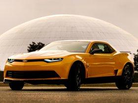 Ver foto 1 de Chevrolet Camaro Bumblebee Concept Transformers 4 2014