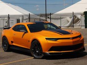 Ver foto 8 de Chevrolet Camaro Bumblebee Concept Transformers 4 2014
