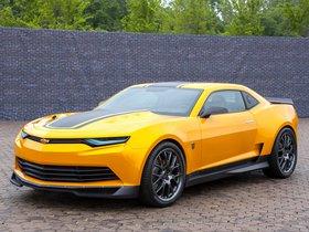 Ver foto 7 de Chevrolet Camaro Bumblebee Concept Transformers 4 2014