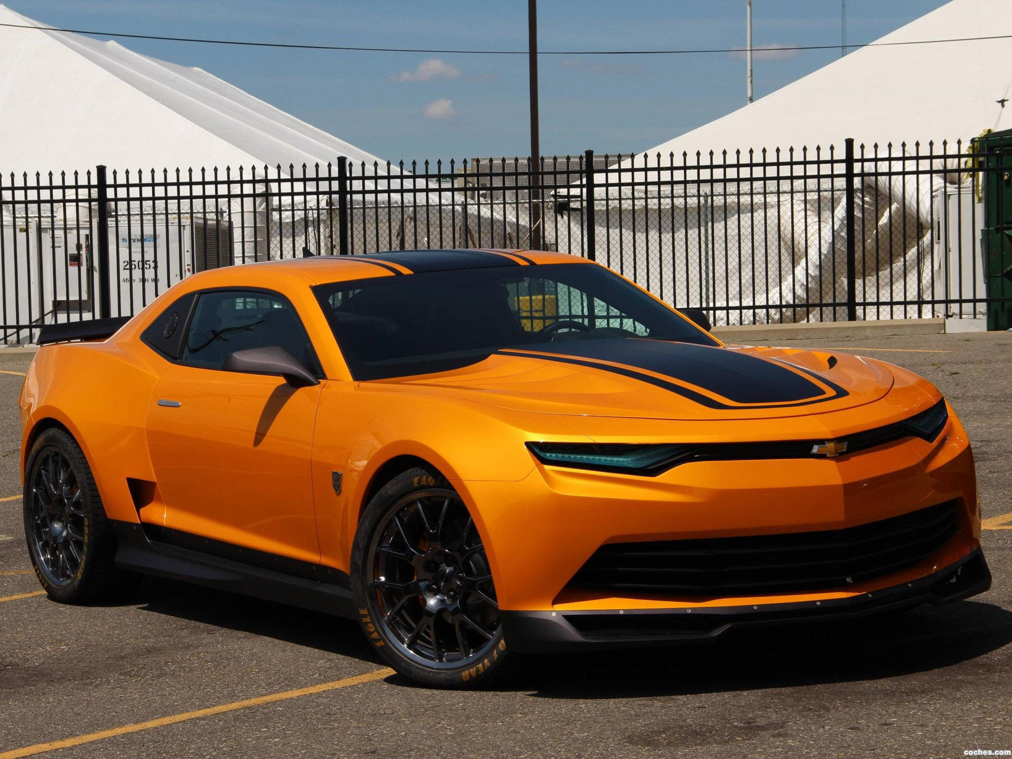 Fotos De Chevrolet Camaro Bumblebee Concept Transformers 4