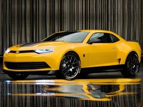 Ver foto 5 de Chevrolet Camaro Bumblebee Concept Transformers 4 2014