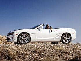 Ver foto 3 de Chevrolet Camaro Convertible 2011