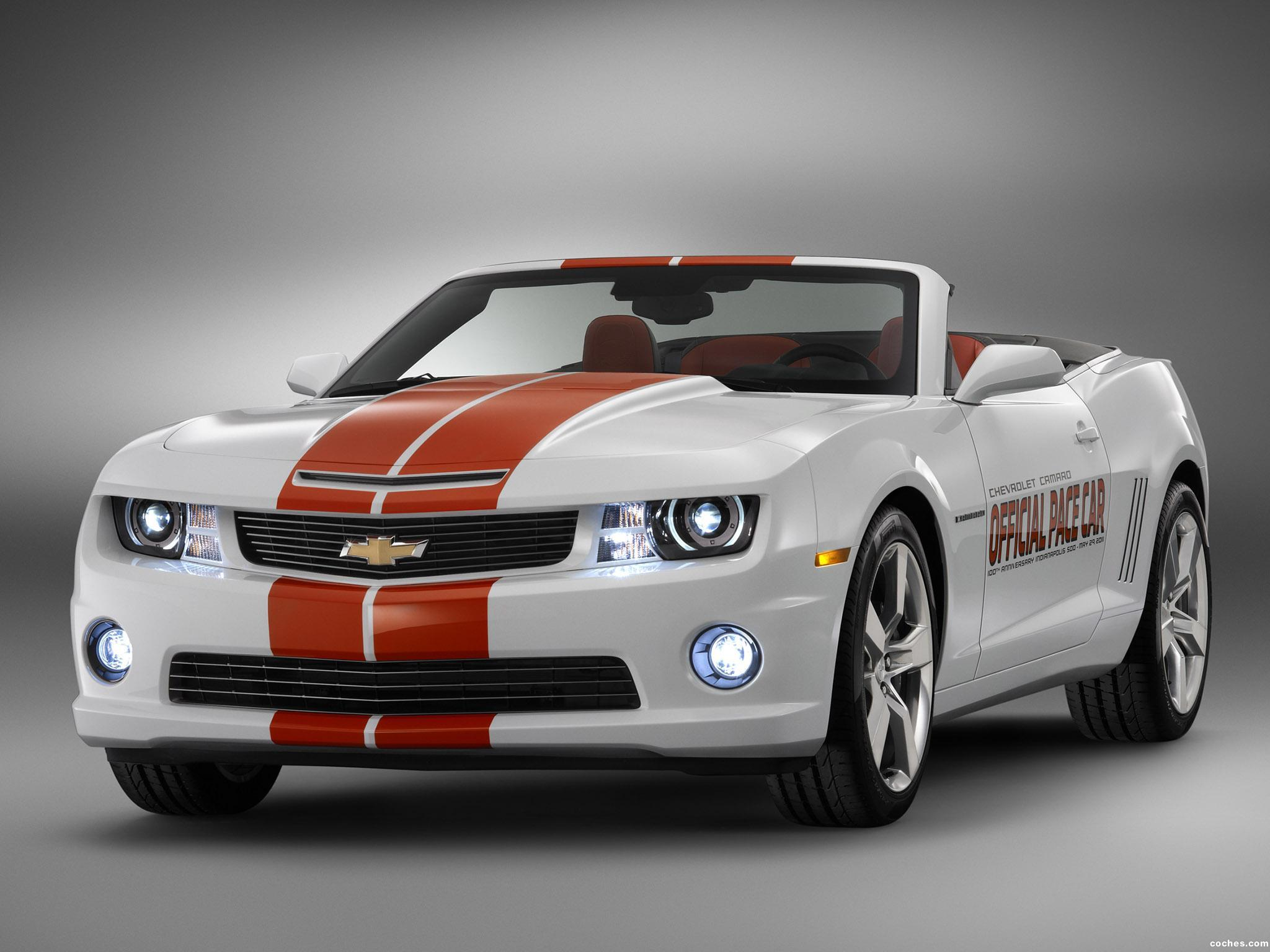 Foto 0 de Chevrolet Camaro Convertible Indy 500 Pace Car 2011