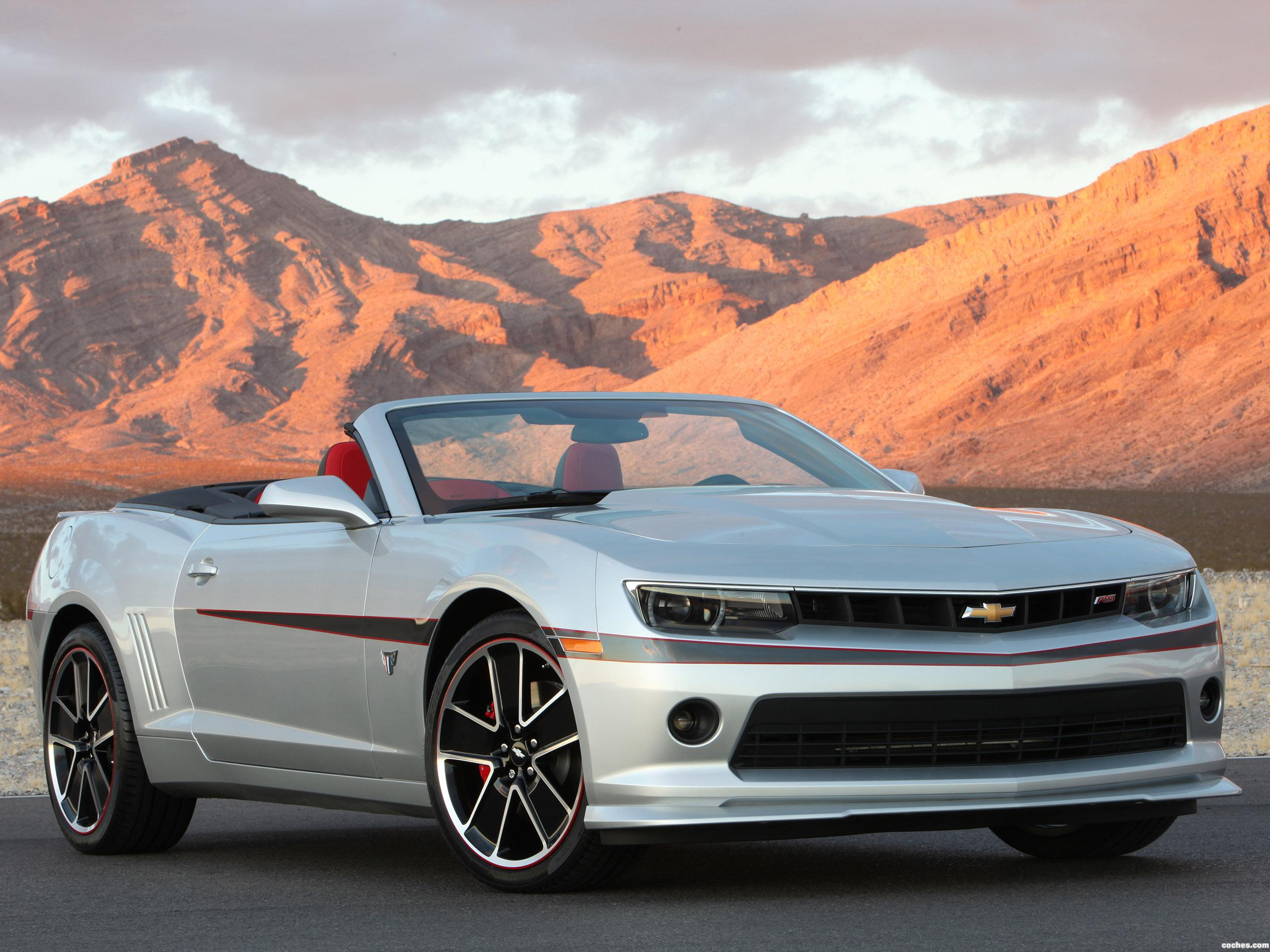 Foto 0 de Chevrolet Camaro LT RS Convertible Commemorative Edition 2015