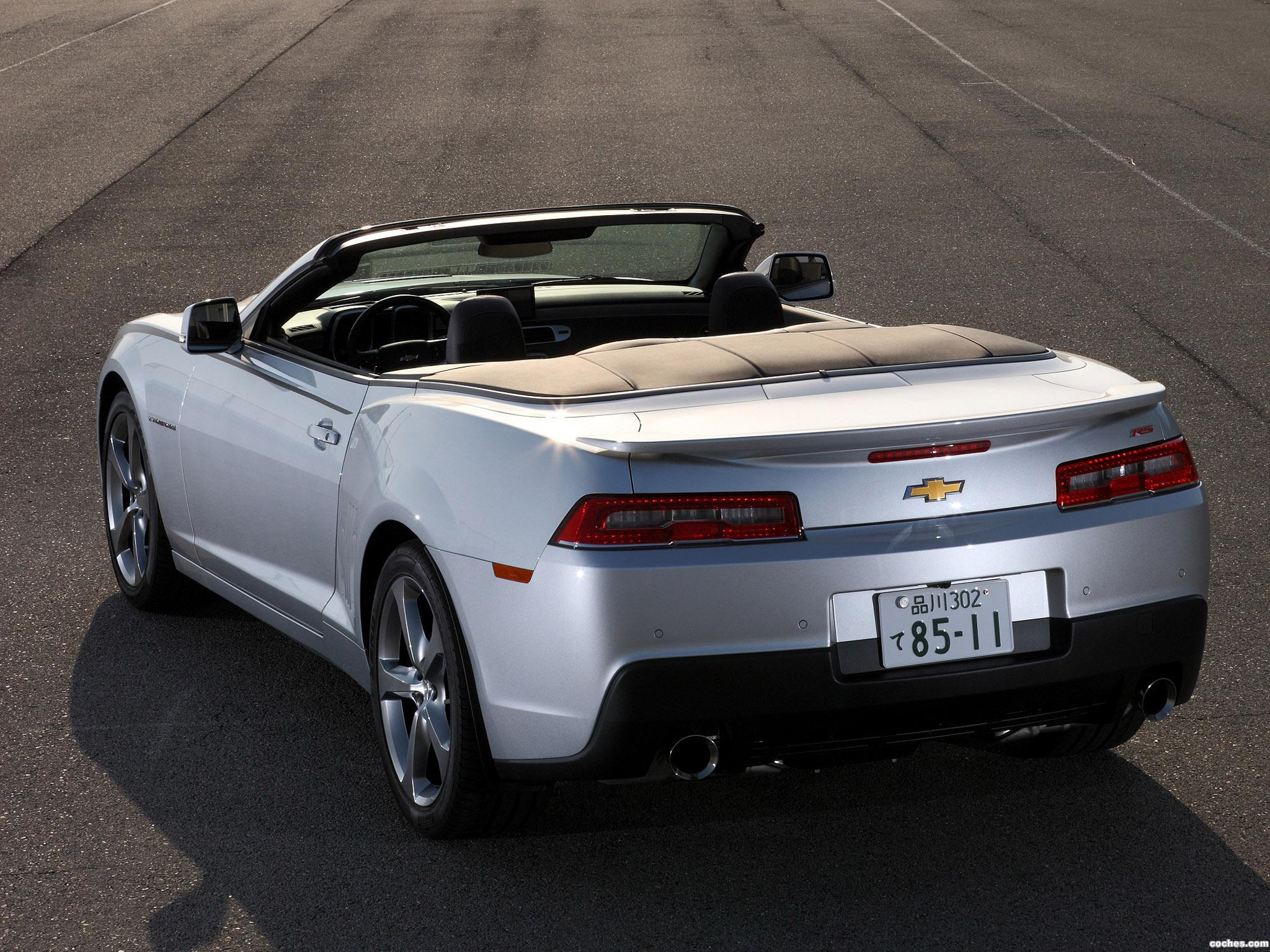 Foto 8 de Chevrolet Camaro LT RS Convertible Japan  2013