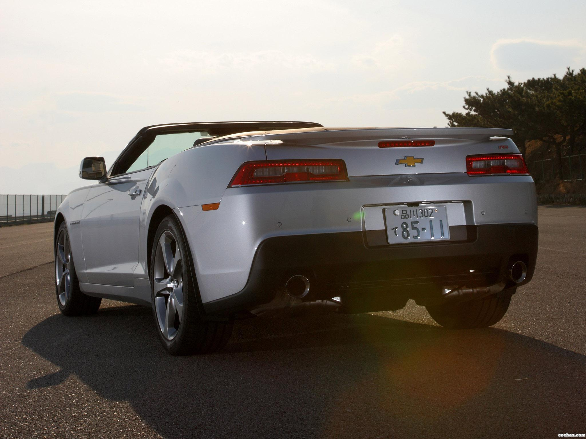 Foto 9 de Chevrolet Camaro LT RS Convertible Japan  2013