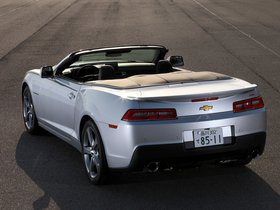 Ver foto 9 de Chevrolet Camaro LT RS Convertible Japan  2013