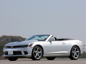 Ver foto 6 de Chevrolet Camaro LT RS Convertible Japan  2013
