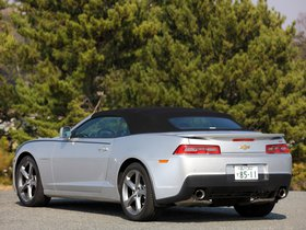 Ver foto 3 de Chevrolet Camaro LT RS Convertible Japan  2013
