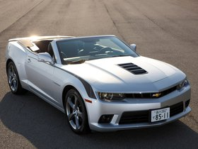 Ver foto 2 de Chevrolet Camaro LT RS Convertible Japan  2013