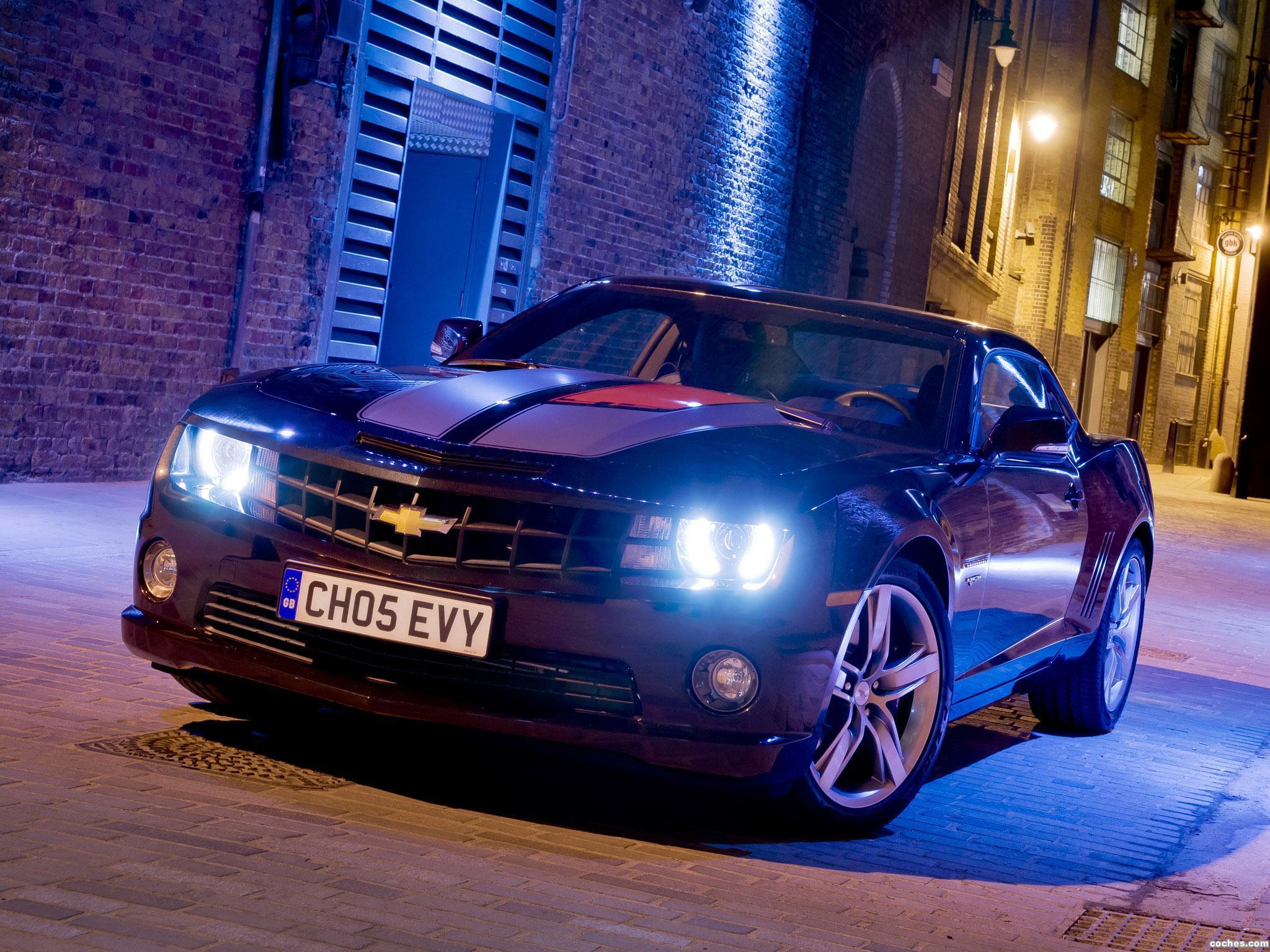 Foto 0 de Chevrolet Camaro RS 45th Anniversary Europe 2012