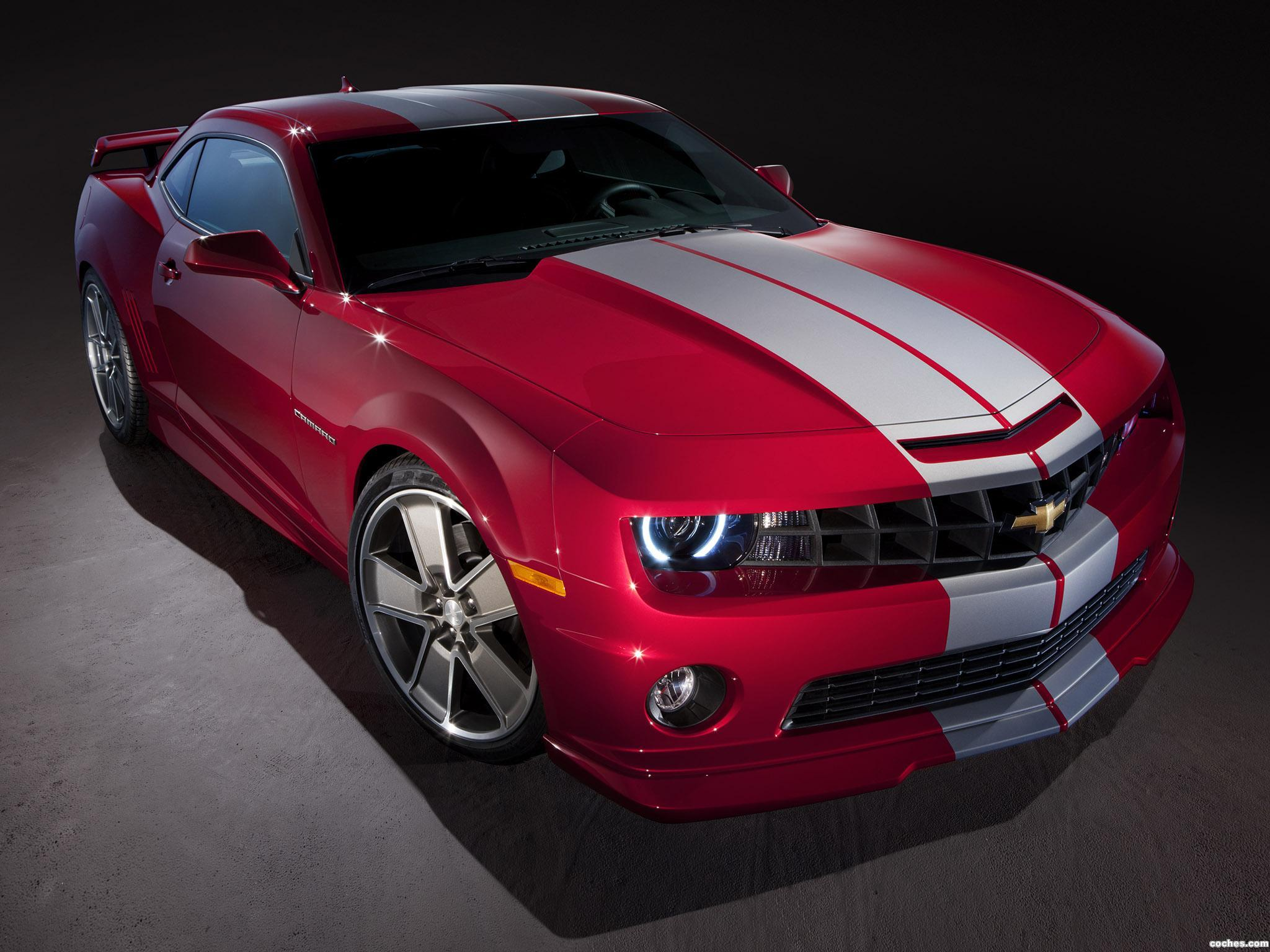 Foto 0 de Chevrolet Camaro Red Flash Concept 2010
