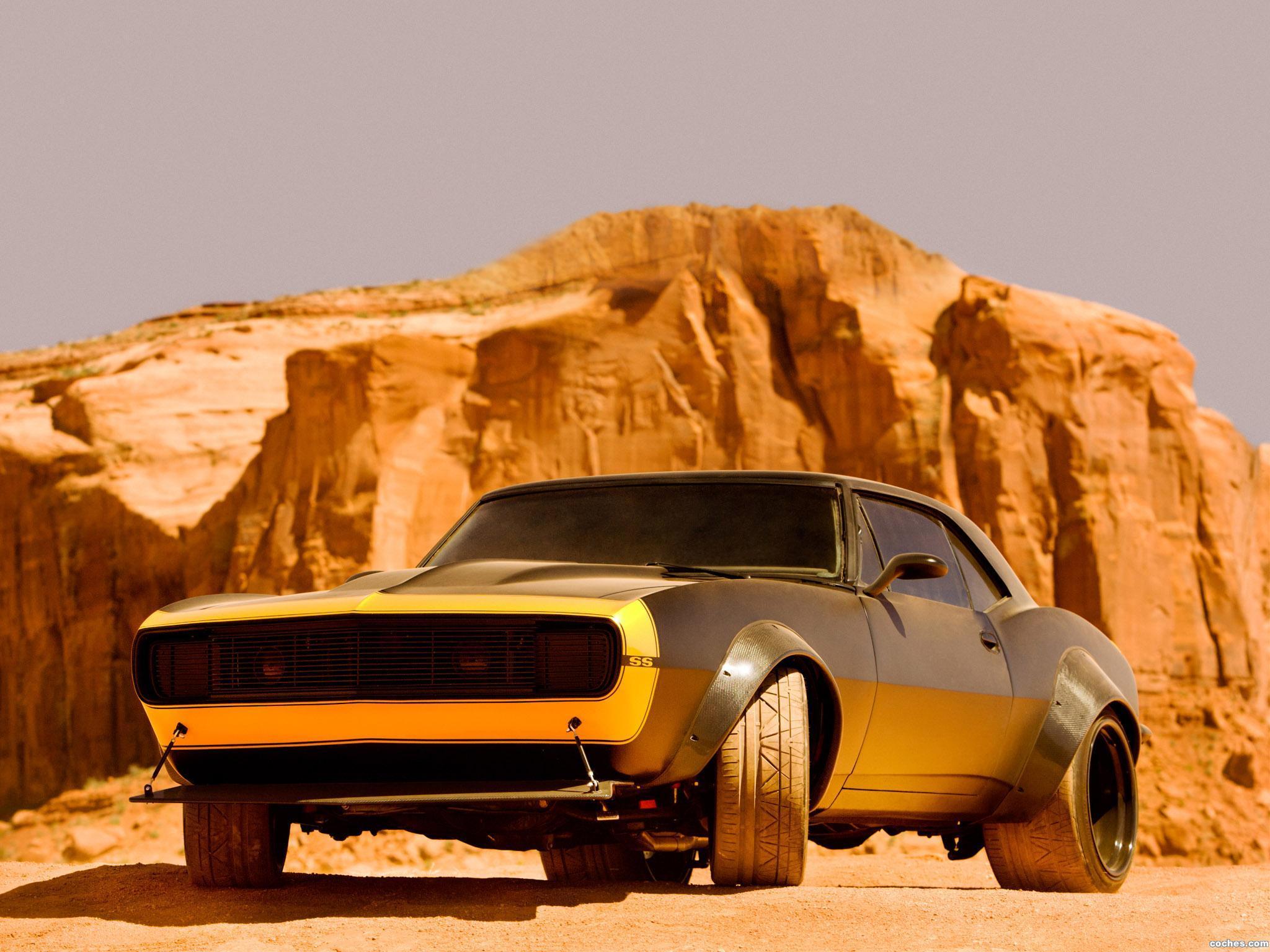 Fotos de Chevrolet Camaro SS 1967 Bumblebee Transformers 4 2014