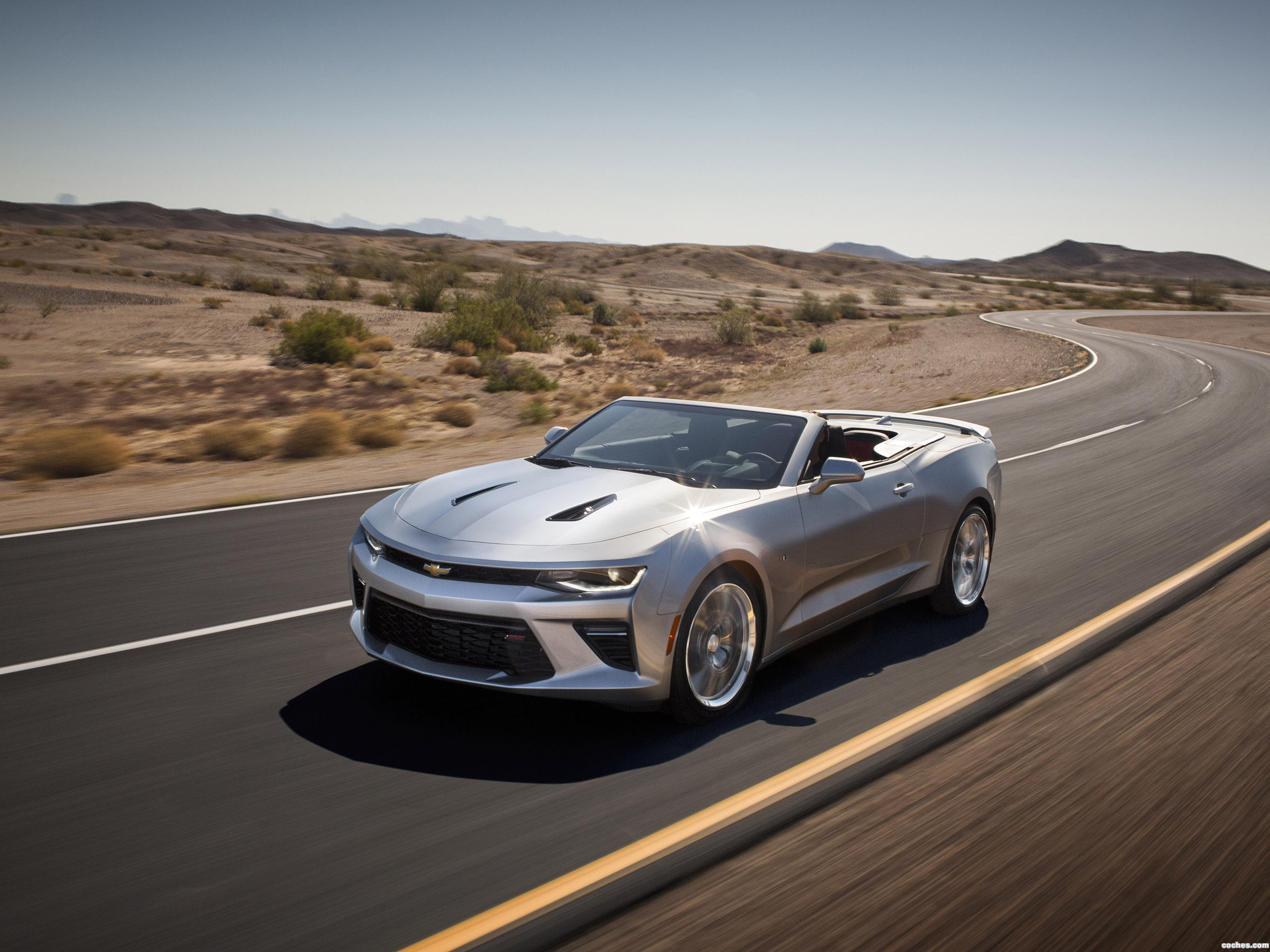 Foto 0 de Chevrolet Camaro SS Convertible 2015