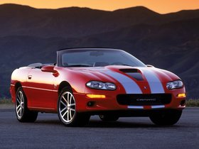 Fotos de Chevrolet Camaro SS Convertible 35th Anniversary Edition 2002