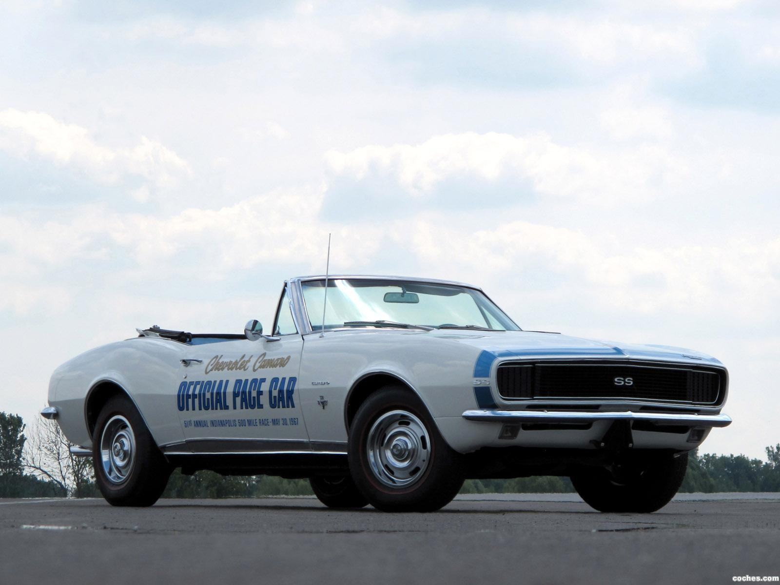 Foto 0 de Chevrolet Camaro SS Convertible Indy 500 Pace Car 1967