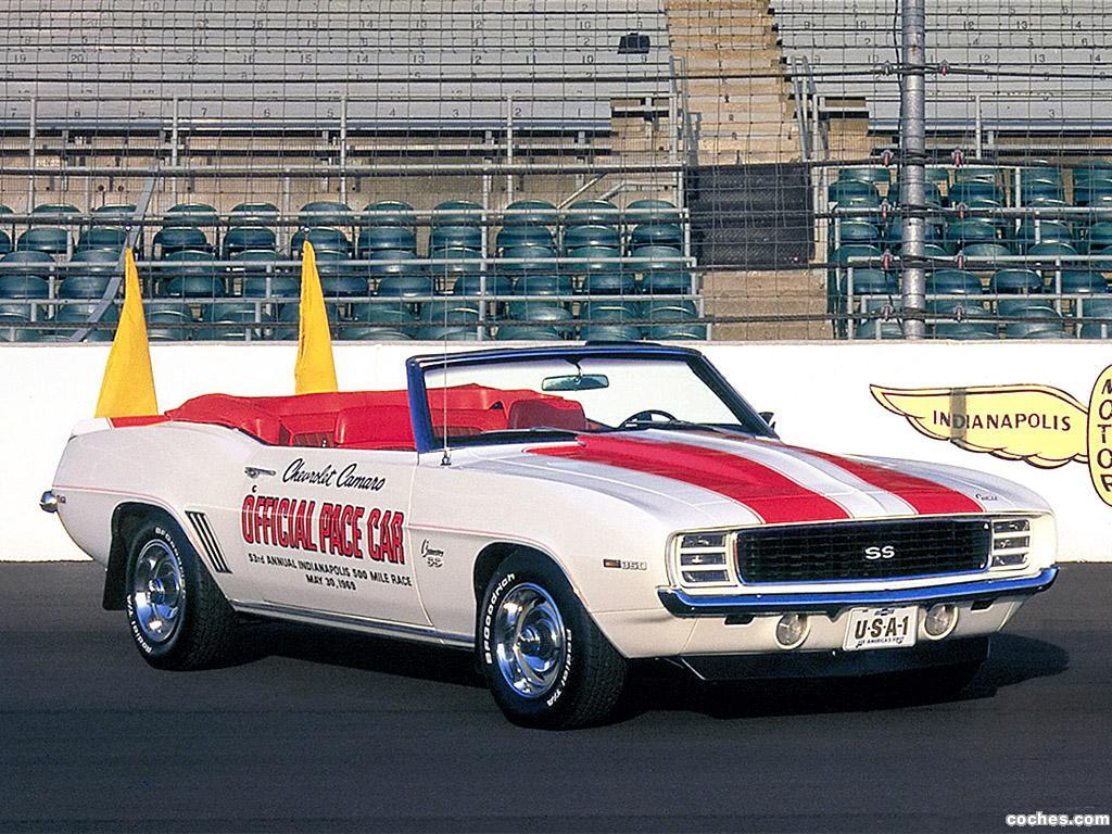 Foto 0 de Chevrolet Camaro SS Convertible Indy 500 Pace Car 1969
