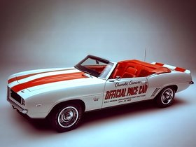 Ver foto 9 de Chevrolet Camaro SS Convertible Indy 500 Pace Car 1969