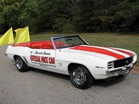 Ver foto 4 de Chevrolet Camaro SS Convertible Indy 500 Pace Car 1969