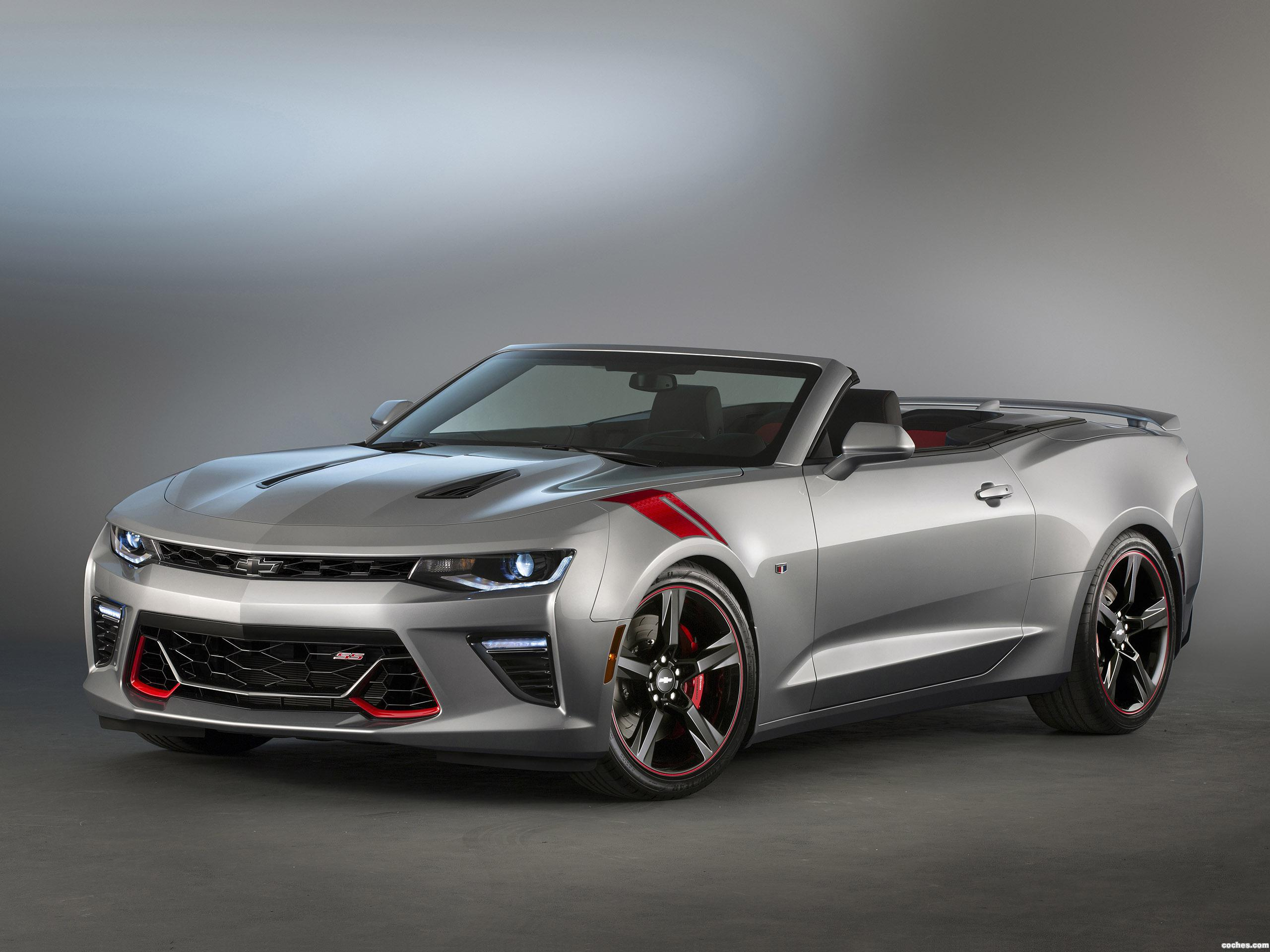 Foto 0 de Chevrolet Camaro SS Convertible Red Accent Package Concept 2015