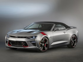 Ver foto 2 de Chevrolet Camaro SS Convertible Red Accent Package Concept 2015