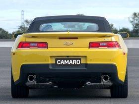 Ver foto 27 de Chevrolet Camaro SS Convertible 2014