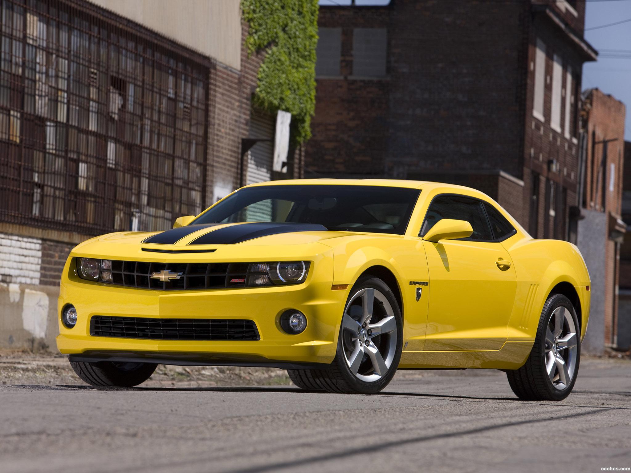 Foto 0 de Chevrolet Camaro Transformers Special Edition 2009